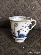 Altwien, antik bécsi porcelán kávés csésze, 1780-as évek eleje