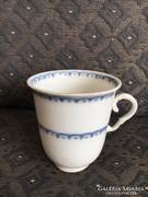 Altwien, antik bécsi porcelán kávés csésze, 1749-1784 között