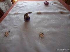 Selyem damaszt asztalterítő