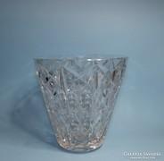 Csiszolt kristály váza csodás