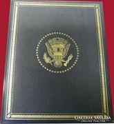 Az első 36 amerikai elnök - ezüstérme gyűjtemény - RITKA