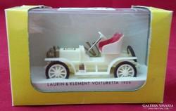 7224 Veterán autó dobozában LAURIN & KLEMENT 1906