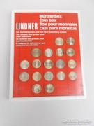 Érmedoboz tálcás, LINDNER (AA-004)
