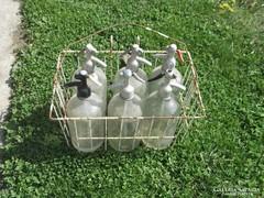 Szódás üvegek