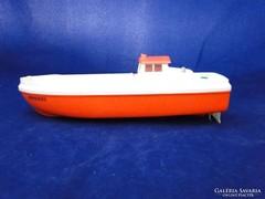 7696 Régi retro HERKULES hajó mentőhajó 27 cm
