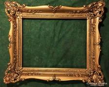 Gyönyörű ritka keret, festménykeret, az 1800-as évekből !