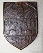 NÁCI BUDAPEST 1944-45 PLAKETT