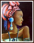 """Őszi akció . Czinóber - """" Afrikai Álom """" ( 30 x 40 )"""