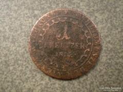 1 krajcár  1812
