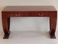 Art Deco íróasztal 2 fiókos [A06]