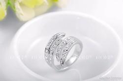 Ezüst színű ROXI gyűrű 8-as ÚJ!