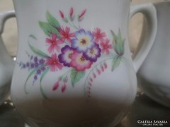 Regi Drasche pocakos, hasas porcelan bogre