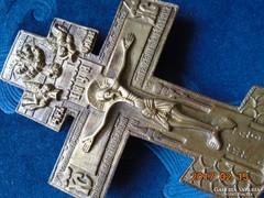17-19-dik sz.bronz orosz pravoszláv kereszt