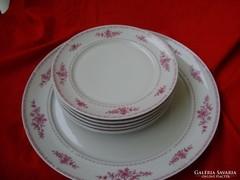 Retro Alföldi porcelán sütis készlet,süteményes