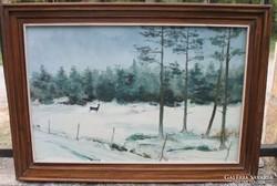 Gábor E. Zsolt : Téli táj
