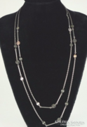 Extra hosszú ezüst lánc