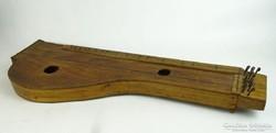 0L453 Régi jelzett citera antik népi hangszer
