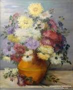 0L337 Etelka jelzéssel : Virágcsendélet