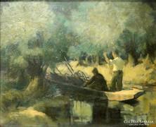 0L336 Tápai Lajos : Tiszai halászok