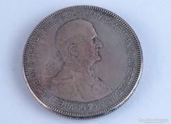 0L268 Horthy ezüst 5 pengő 1930 BERÁN 25g