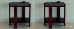 Art Deco lerakó asztal [G19]