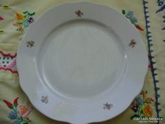 Antik Zsolnay virág mintás tányér,lapostányér