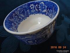 """A""""Thames River Scenes""""sorozatból-kobaltkék csésze"""
