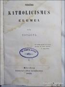 Hoványi : Fensöbb katholicismus elemei I-II. 1853