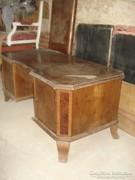 Neobarokk íróasztal foteljával