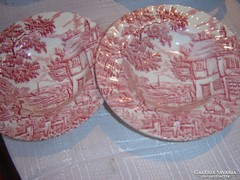 Angol tányér 2 darab