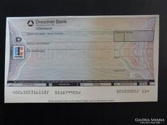 Eurocheque - Dresdner Bank - Németország