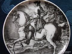 LOVASISKOLA-rézkarc nyomat-J.E.RIDINGER(1698-1767)
