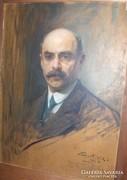 Philip Alexius de László  festménye: Emanuel Moór portréja