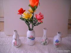 Pici porcelán váza 4 db eladó!