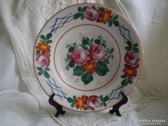 Hollóházi porcelán : Antik falitányér