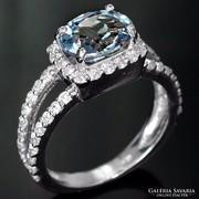Gyűrű 2,8 karátos eredeti Alexandrit drágakővel !!!