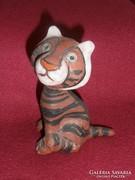Kerámia kis tigris