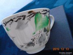 Lomonoszov ,kézzel festett ,szignós teáscsésze