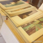 Reprodukció gyűjtemény 74 db Lett és Orosz Szépművészeti Múzeum képjegyzéke