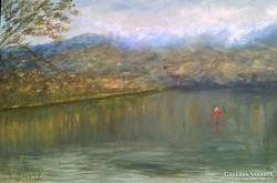 Sütő Angéla - Őszi tükröződések Bohinj-tó Szlovénia