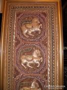 Tradícionális burmai falikép kalaga