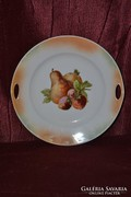 Gyümölcs mintás kínáló tányér  ( DBZ 0080 )