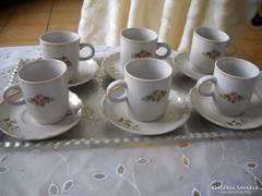 Antik porcelán kávéskészlet tálcával együtt eladó!