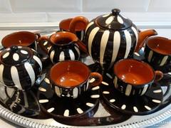 Vintage ceramic coffee set