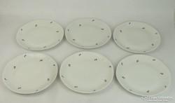 0L651 Jelzett hat darabos porcelán tányérkészlet