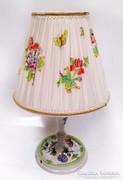 Viktória mintás Herendi asztali lámpa