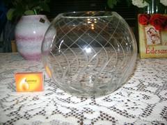Üveg gömb váza