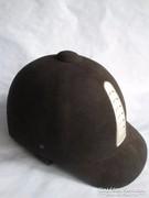 Fekete lovagló kobak Prémium HORSEPRO 53 -as