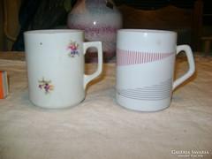 Zsolnay teás bögre, csésze - két darab