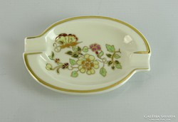 0L701 Régi Zsolnay porcelán vajszínű hamutál